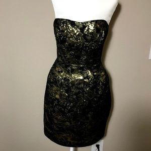 Black Golden Dress